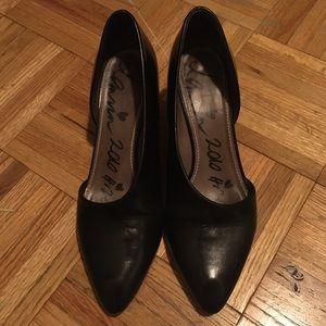 Lanvin Black Espadrille Heels 9
